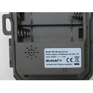 Fotopasca BUNATY MINI FULLHD + 16GB SD karta, 4ks batérií ZDARMA