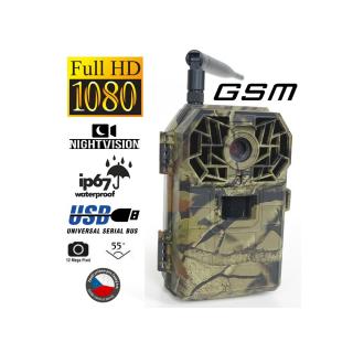 Fotopasca BUNATY FULL HD GSM + 32GB SD karta, 8ks batérií ZDARMA!