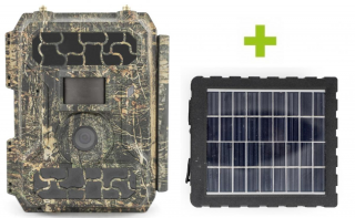 Fotopasca OXE PANTHER 4G a solárny panel