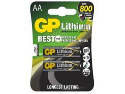 8x GP baterie lithiová FR6 2BL