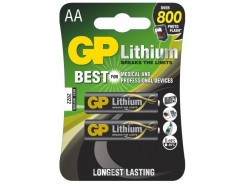 12x GP baterie lithiová FR6 2BL