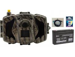 Fotopasca ScoutGuard MG984G-30M + 8GB SD karta, 8ks líthiových batérií, AKU 6V/7Ah vrátane napájacieho kábla ZDARMA!