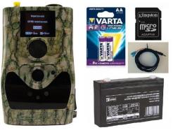 Fotopasca ScoutGuard SG880MK-14mHD + 16GB SD karta, 8ks batérií, AKU 6V/7Ah, kábel so svorkami ZDARMA!