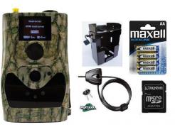 Fotopasca ScoutGuard SG880MK-18mHD + 16GB SD karta, 8 batérií, kovový box, lanový zámok ZDARMA!
