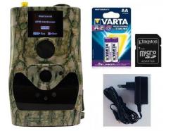 Fotopasca FOXcam SG880 4G + 16GB SD KARTA, 8KS BATÉRIÍ, NAPÁJACÍ ZDROJ ZDARMA!