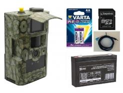Fotopast ScoutGuard MG883G-14mHD + 16GB SD karta, SIM karta, 8ks baterií, AKU 6V/7Ah, kabel se svorkami a doprava ZDARMA!
