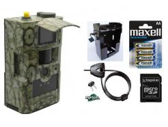 Fotopast ScoutGuard MG883G-14mHD + 16GB SD karta, SIM karta, 8ks baterií, kovový box, lanový zámek a doprava ZDARMA!